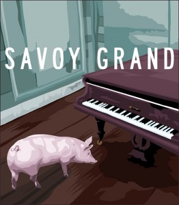 Pig & Piano. by Chris Summerlin
